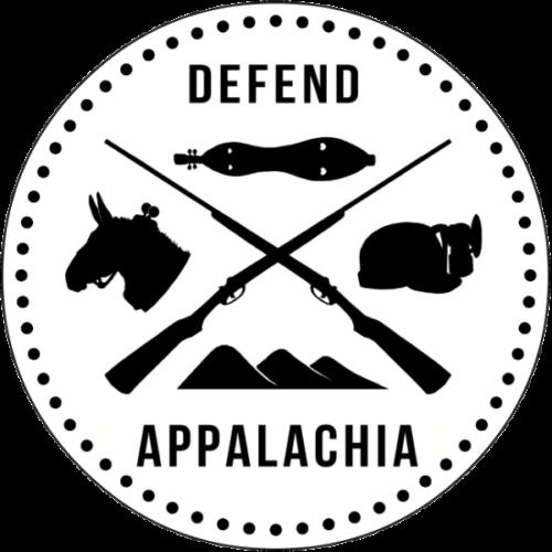 Defend Appalachia – Circle Logo – Sticker resized