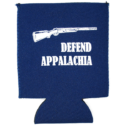 defend appalachia coozie blue front resized