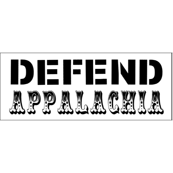 defend appalachia stacked text sticker white resized