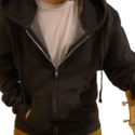 hoodie front draft stock image